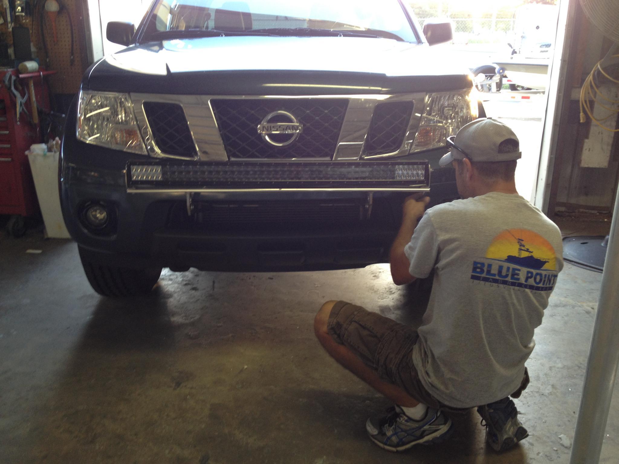 custom built lightbar install... - Nissan Frontier Forum