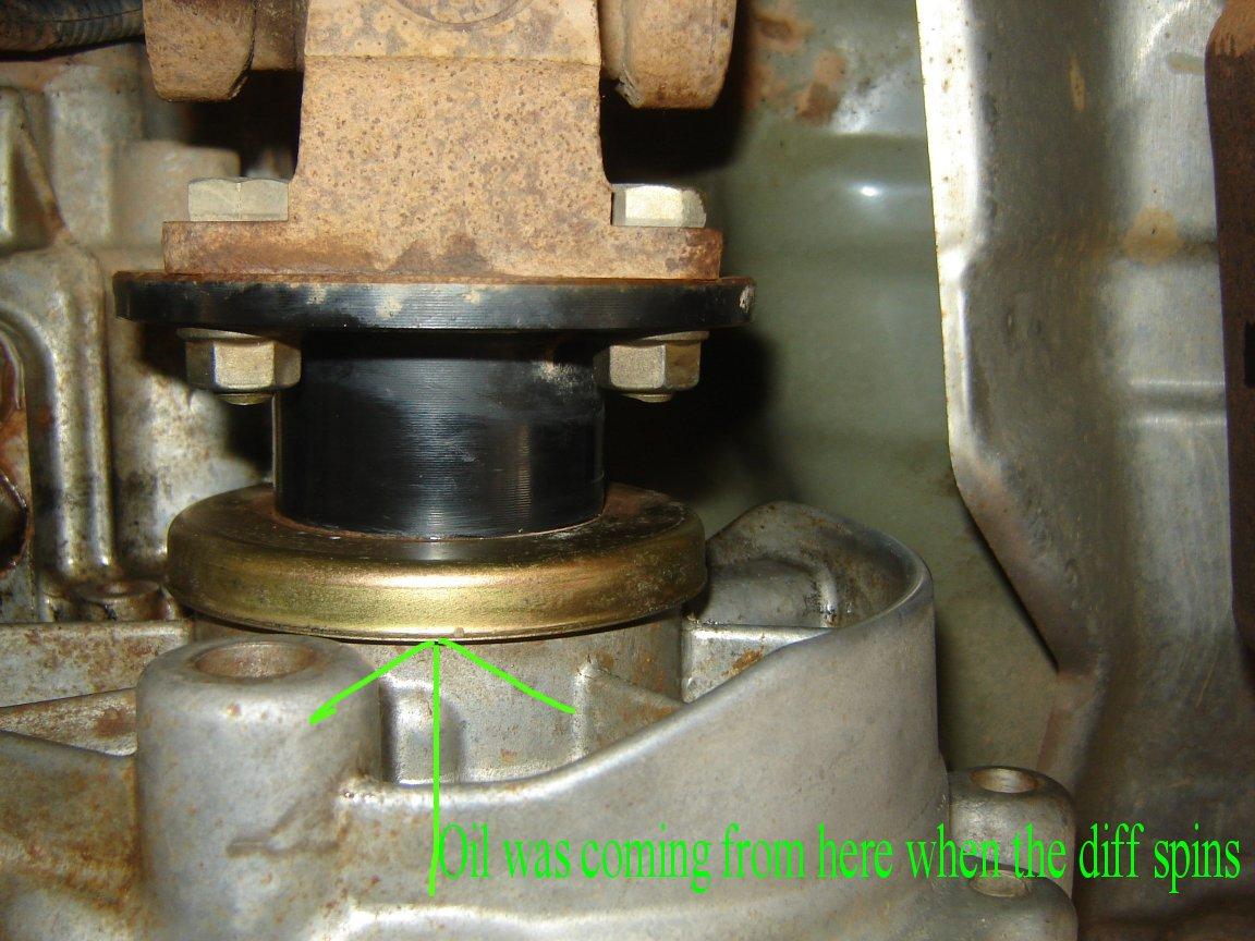 Front Drive Seal Transfer Case Nissan Frontier Forum