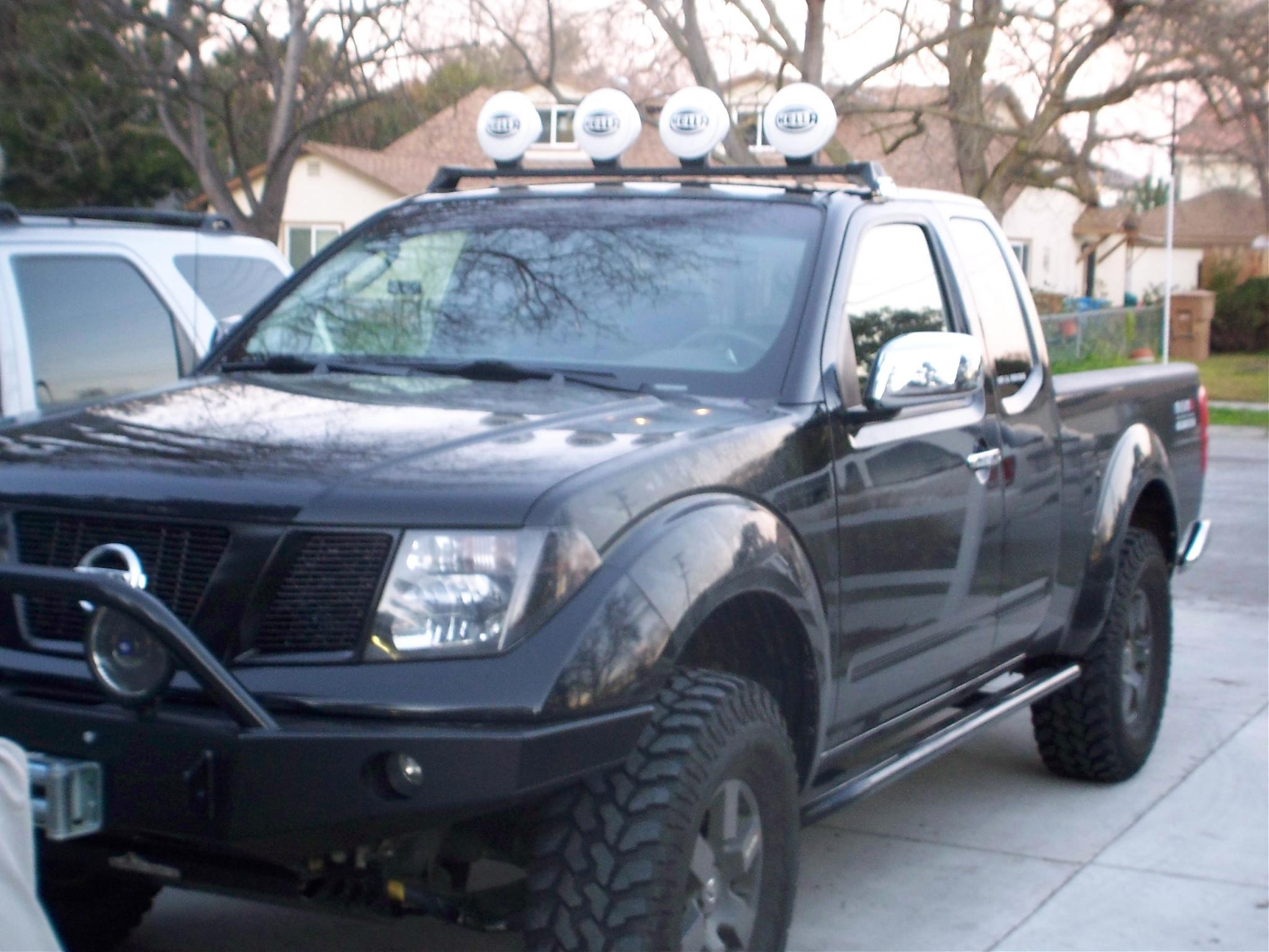 Roof light bar and 4 hella ff1000s installed nissan frontier forum aloadofball Choice Image