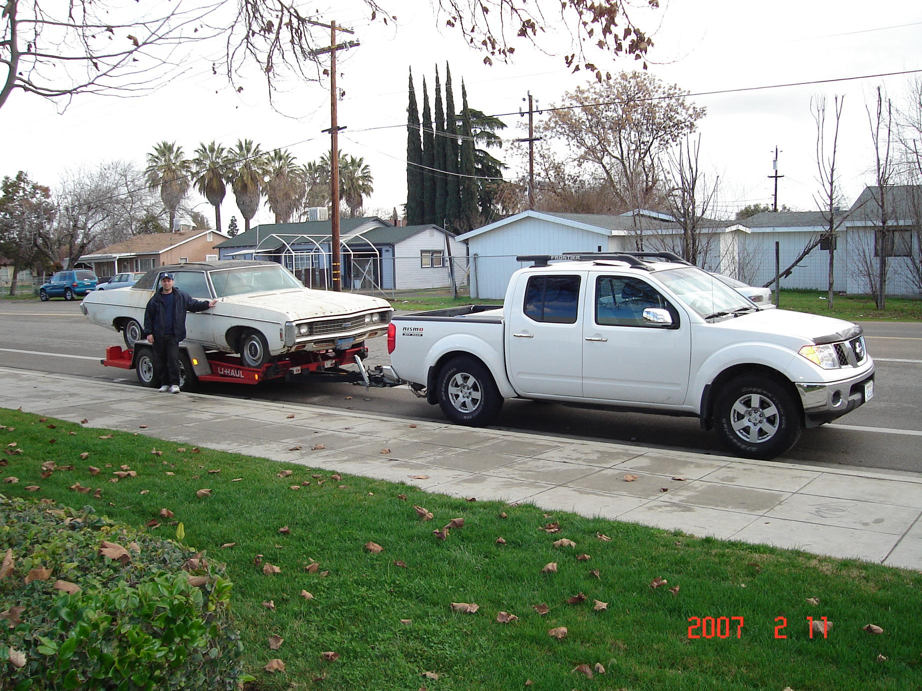 Frontiers Can Really Tow Nissan Frontier Forum