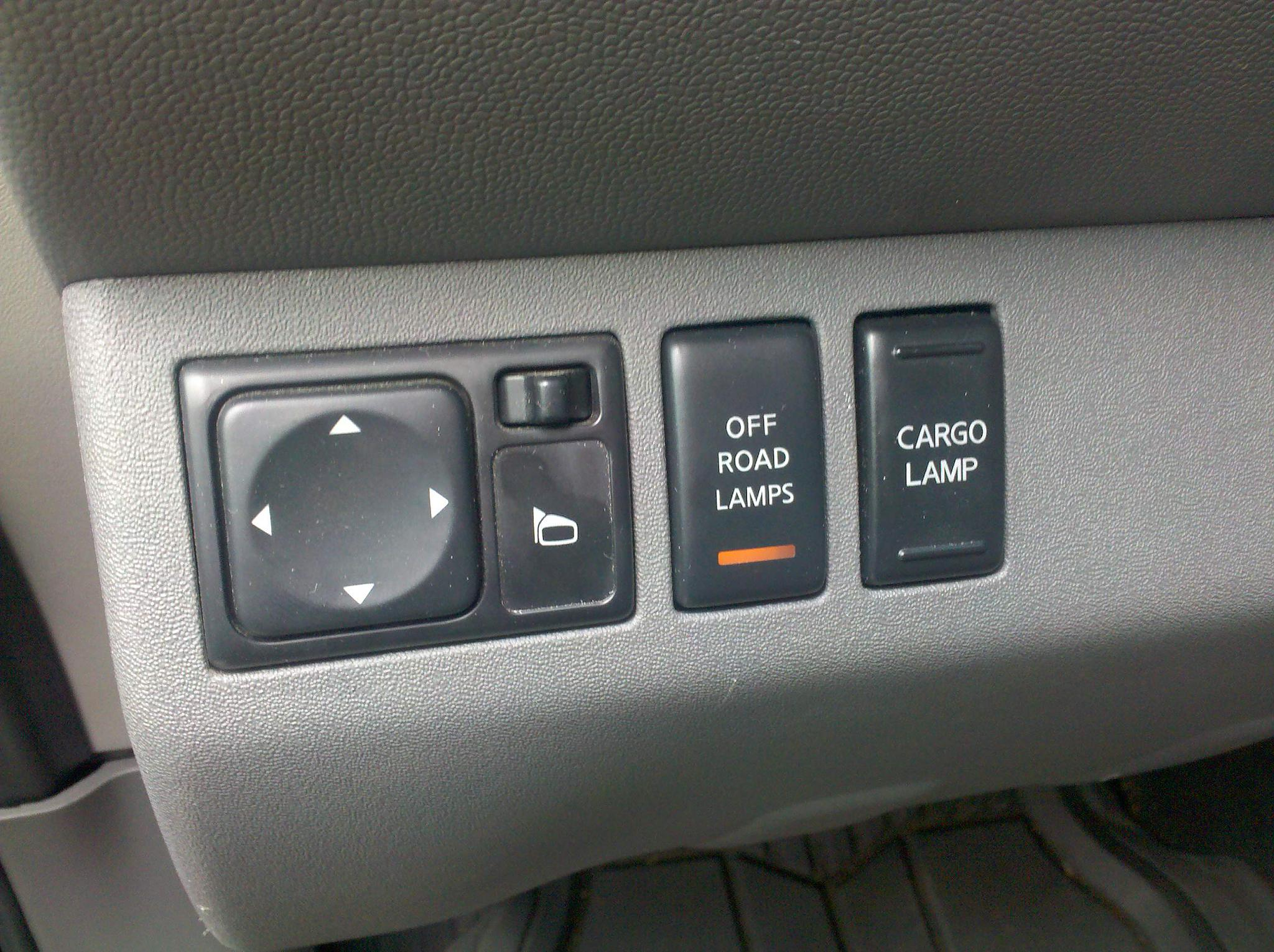 xterra offroad lamp switch