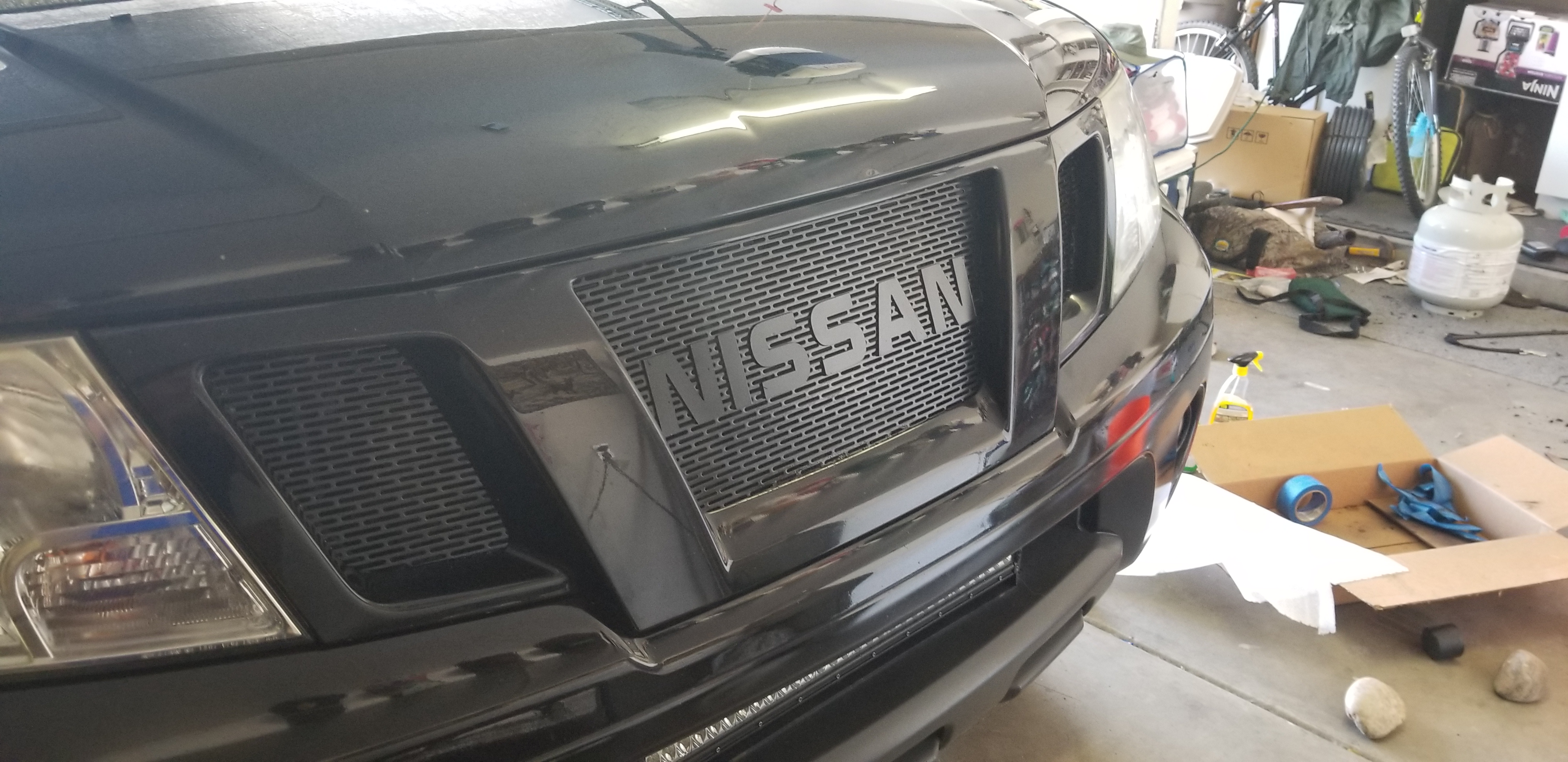 tacoma raptor style grill for frontier nissan frontier forum tacoma raptor style grill for