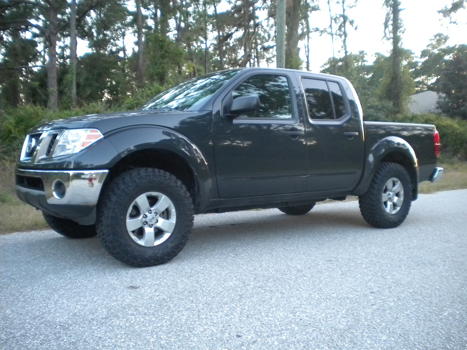 Nissan Frontier Leveling Kit Before And After >> Frontier kit leveling nissan