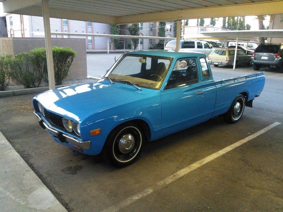 Datsun 620 King Cab   Car Interior Design