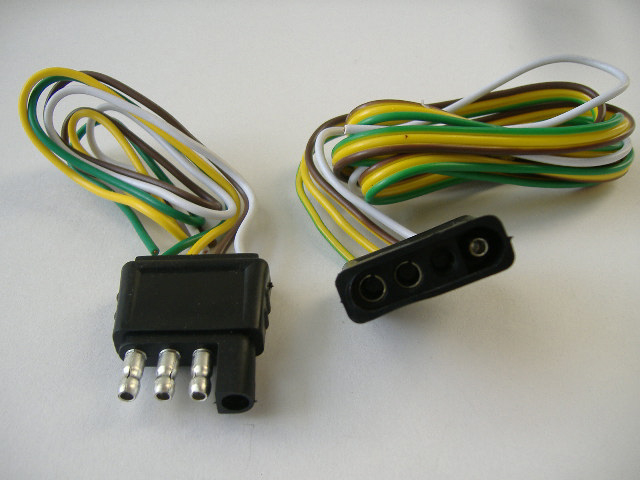 33131d1312733963 trailer wiring harness how many pins 4_pin_flat_trailer_wiring_harness trailer wiring harness, how many pins ? nissan frontier forum wiring harness pins at mifinder.co