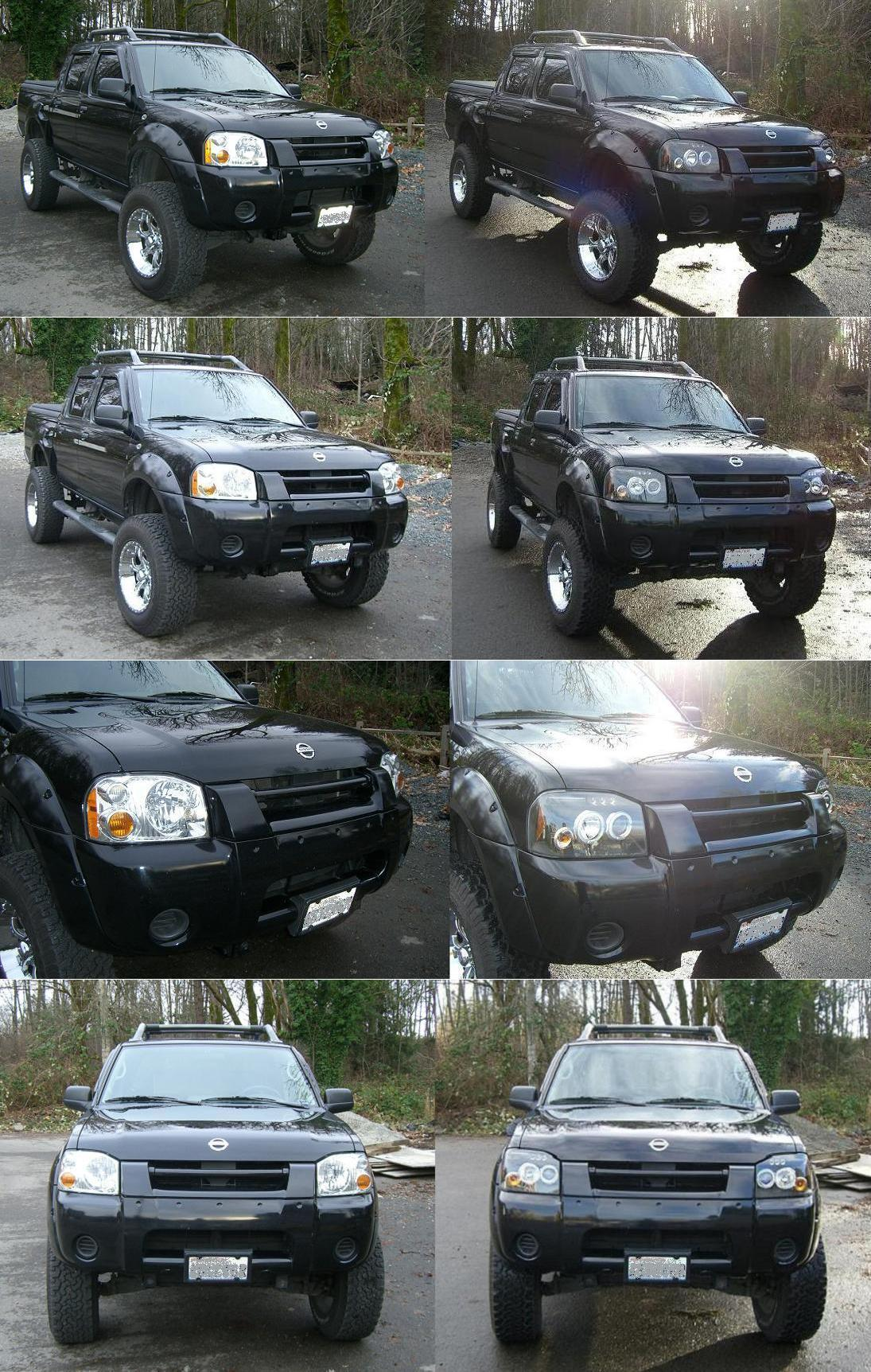Dual halo projector LED headlights write-up - Nissan Frontier Forum