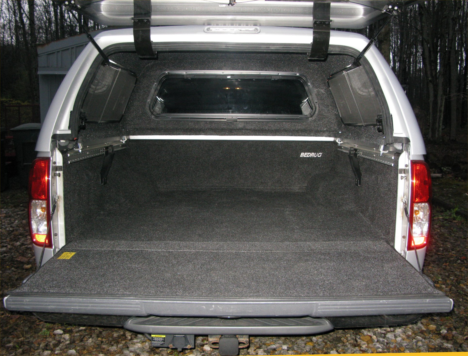 mpn gray mat liner rear cargo kit bed jeep bedrug replacement rug