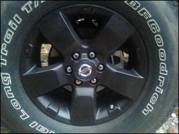 Plasti Dipped Oem Wheels Nissan Frontier Forum