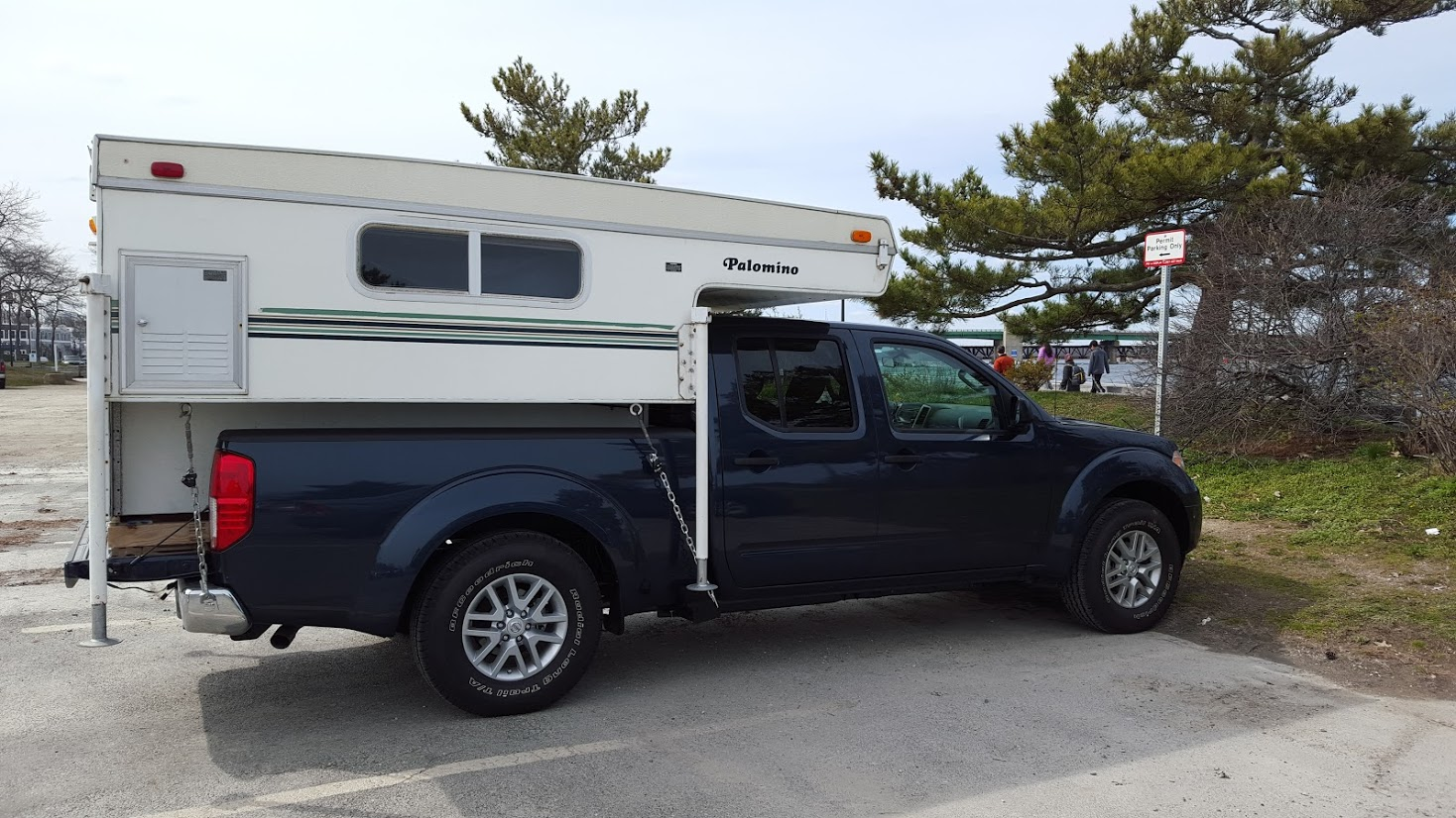 Fronty With Truck Camper Slide In Nissan Frontier Forum