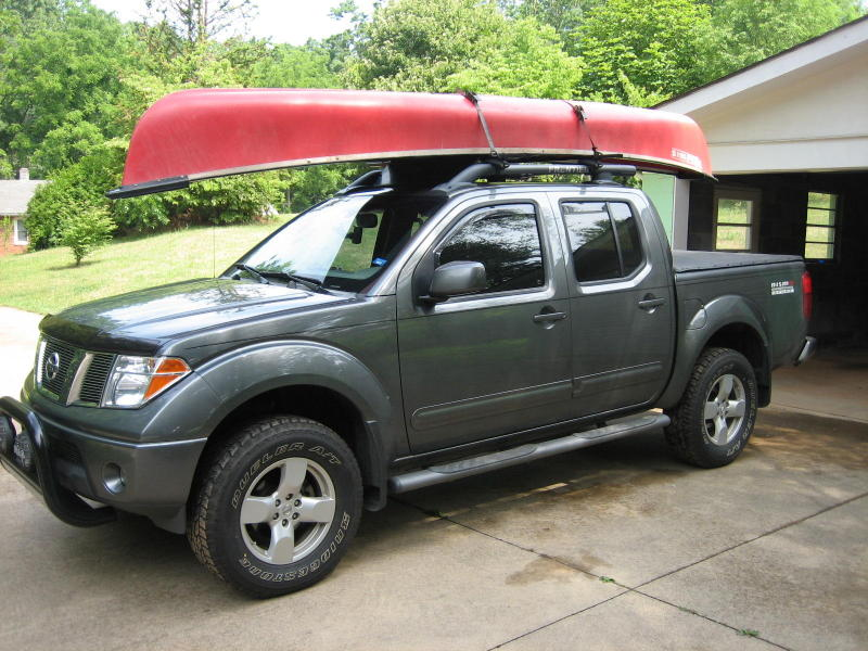 canoe tie downs on front nissan frontier forum. Black Bedroom Furniture Sets. Home Design Ideas