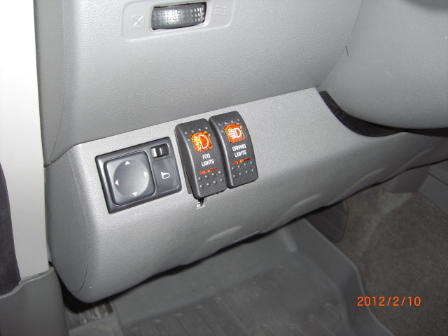 2006 nissan frontier fog light switch