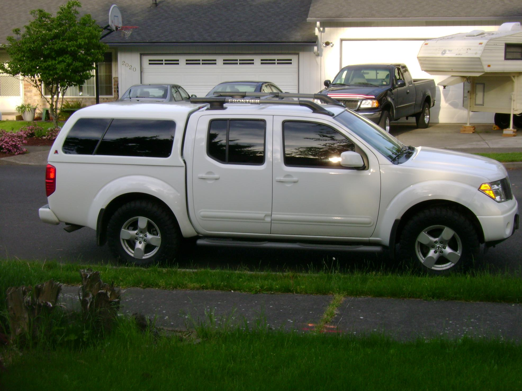 Nissan Frontier Camper Shell