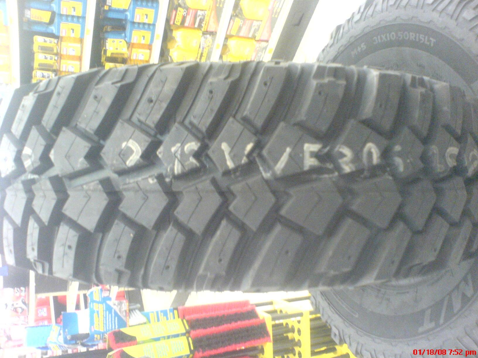 Definity Dakota M Spume Tires Reviews