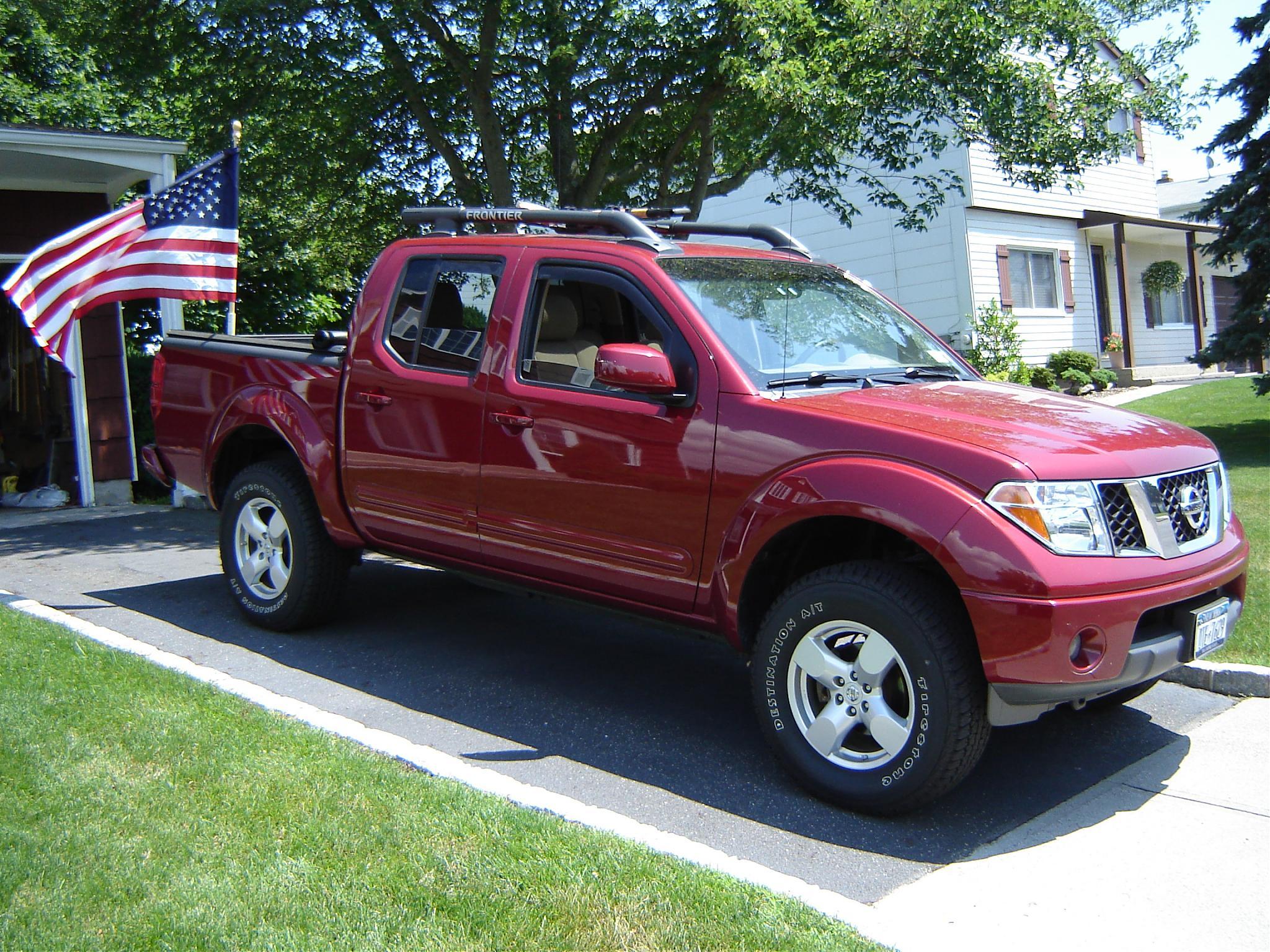 Anybody run flags Nissan Frontier Forum
