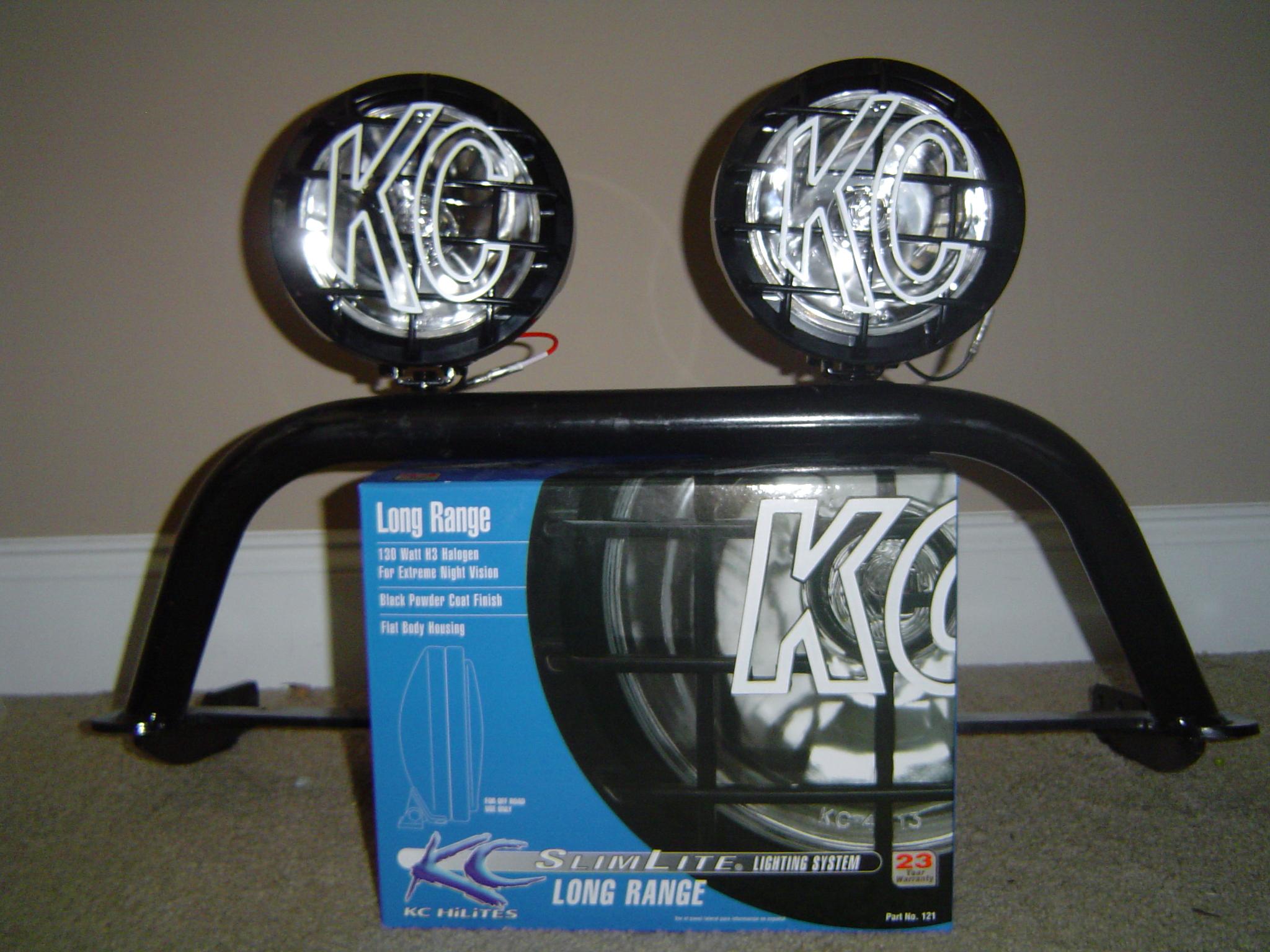 FSWhite Rhino Light Bar KC Lights Nissan Frontier Forum