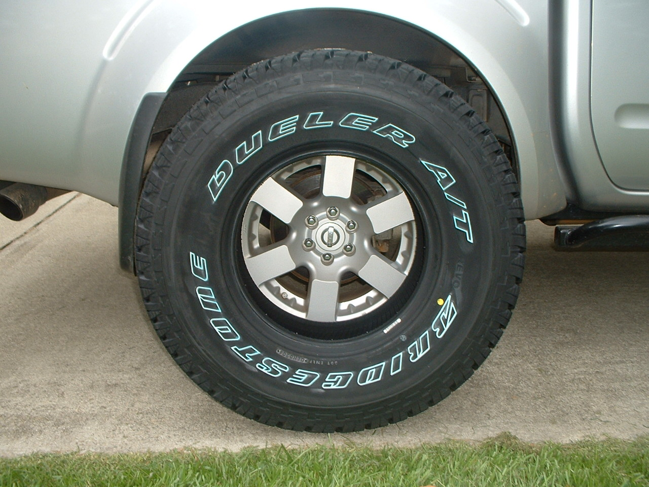 White Letters Out Or In Nissan Frontier Forum