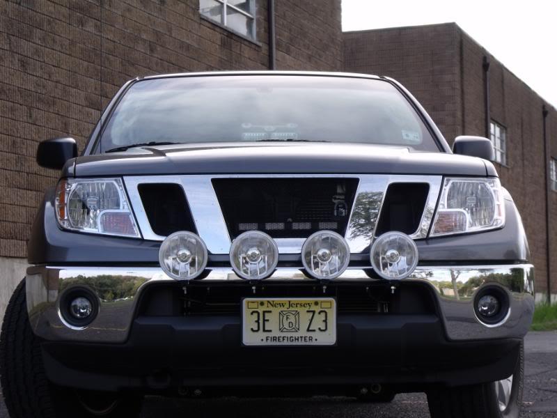 Getting A Light Bar Front Bumper Mount Nissan Frontier