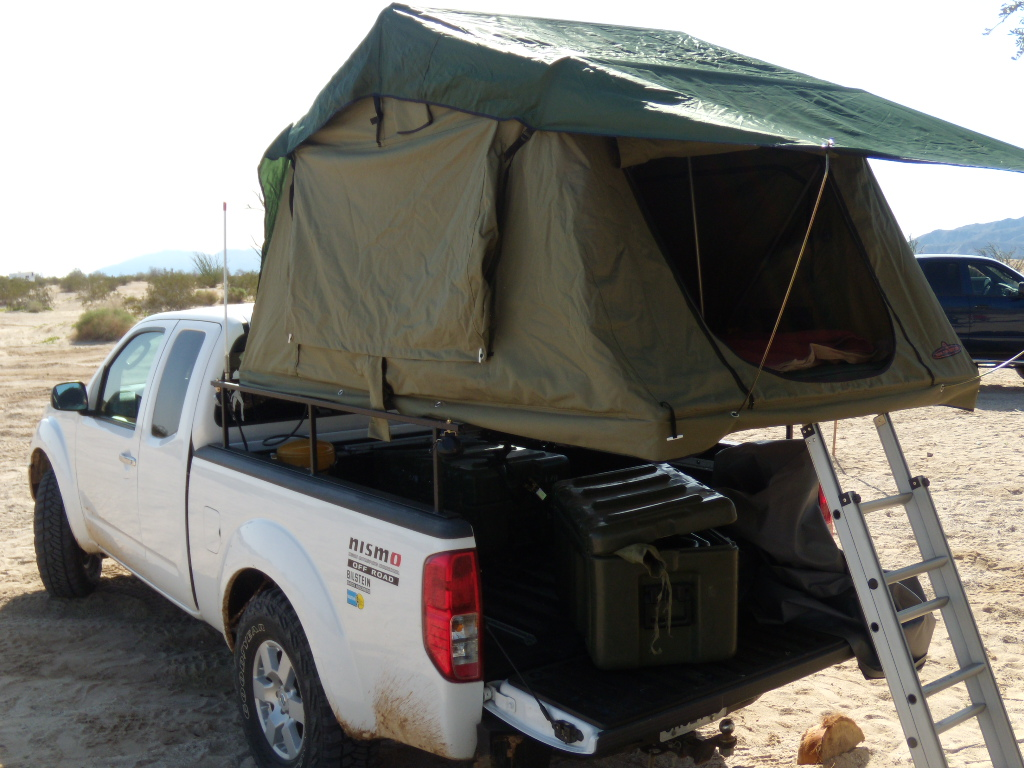 & Roof top tent and custom rack up for grabs - Nissan Frontier Forum