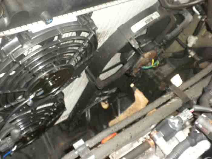 replacing the clutch fan w electric fans nissan frontier fuse box distribution box diy fuse box part