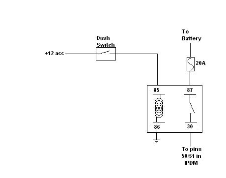 fog light oem relay wiring and depo questions nissan frontier forum rh clubfrontier org Security Light Wiring Diagram 2001 Ford Explorer Fog Lamp Wiring