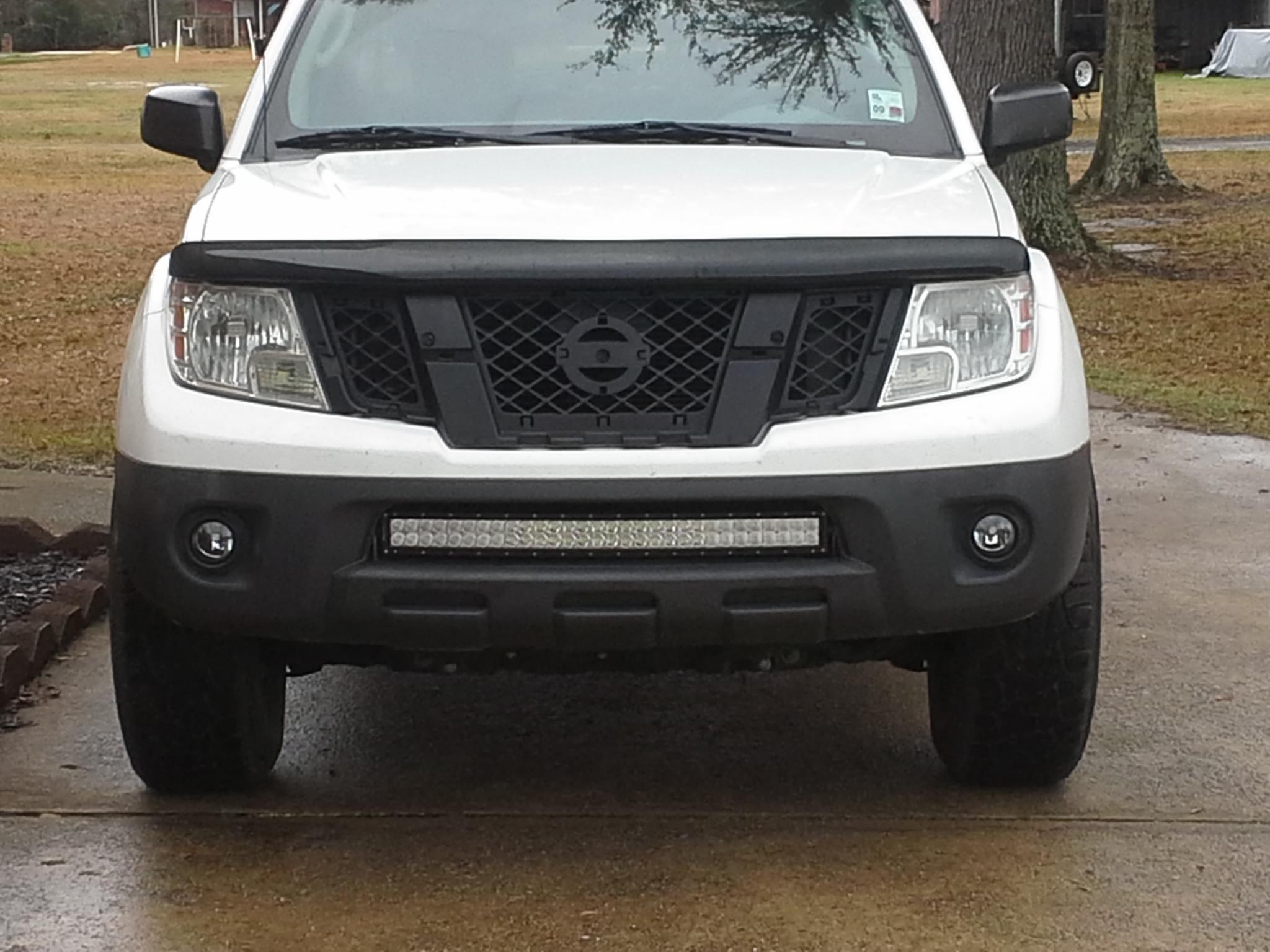 Super bright led light bar nissan frontier forum click image for larger version name front led barg views 3559 size aloadofball Choice Image