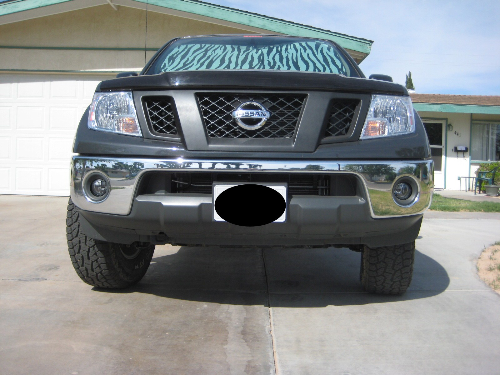 Painting grille opinions nissan frontier forum attachment 36939 vanachro Choice Image