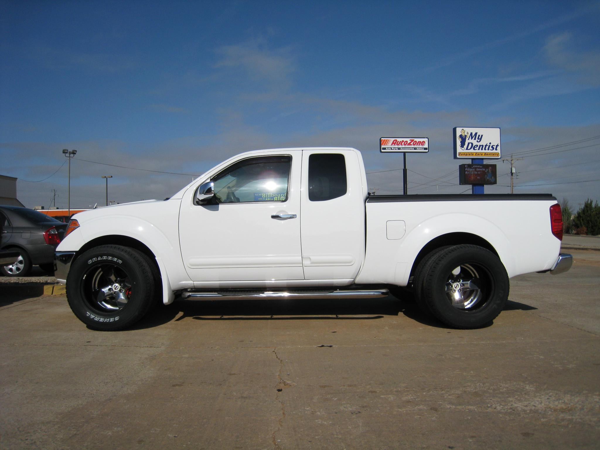Raised White Letters In Or Out Nissan Frontier Forum