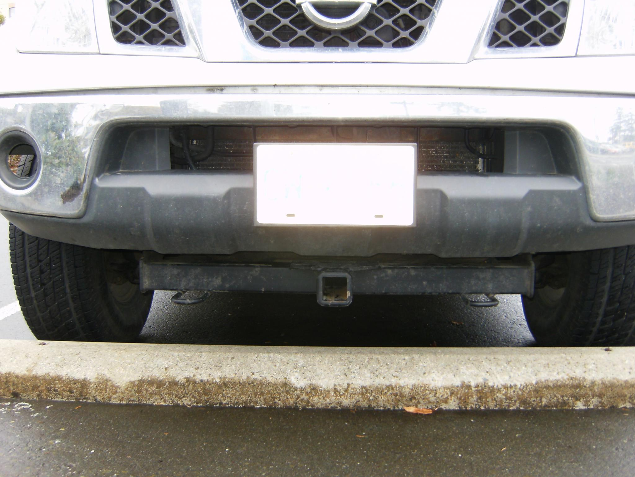 2011 Nissan Xterra >> FS Curt front receiver hitch - Nissan Frontier Forum