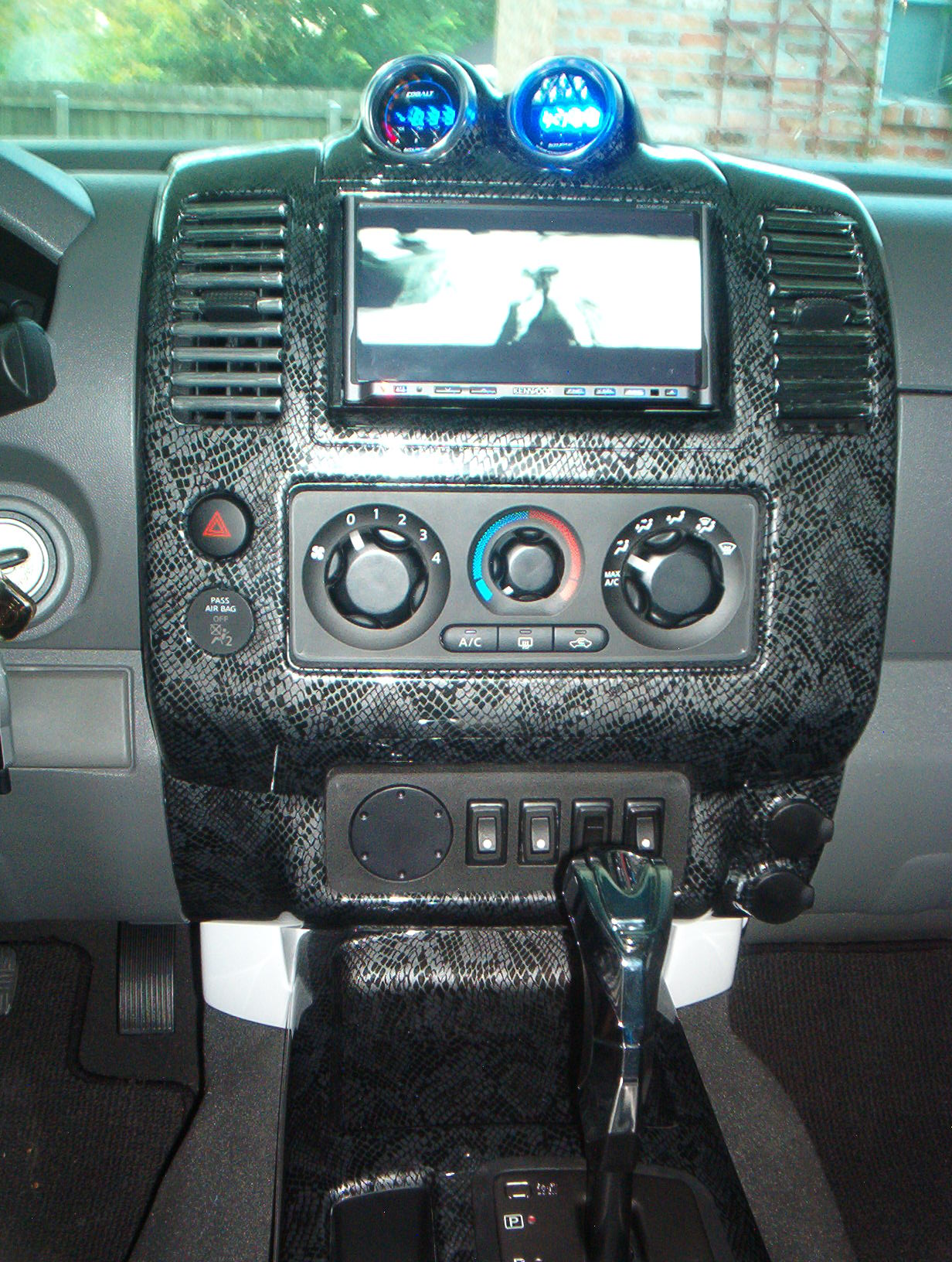 2005 Nissan Xterra Speaker Size Recomended Car Diagram Of 2007 Maxima Fuse Panel Snakeskin Center Console And Dash Page 3 Frontier Forum