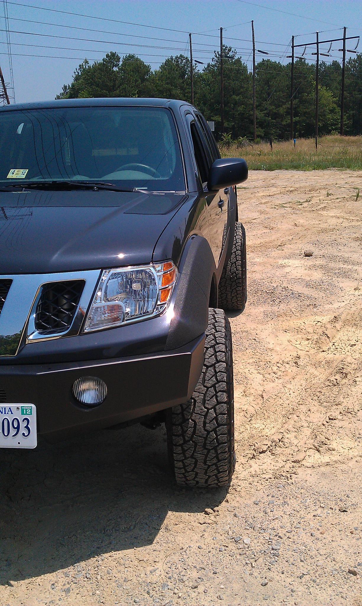 Wheel Spacer Pics Nissan Frontier Forum