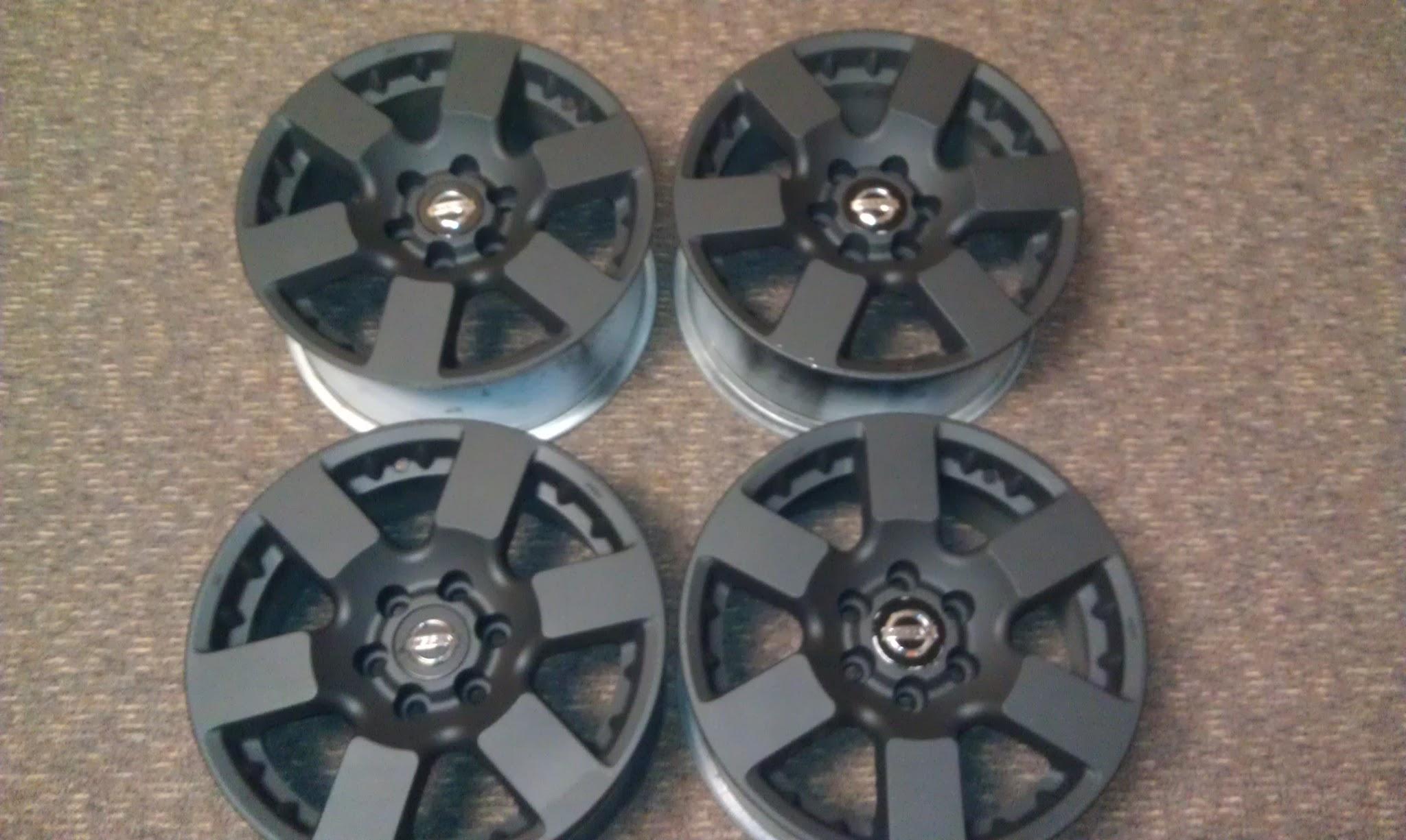 Frontier Xterra Nismo Pro 4x Rims In Black 350 Nissan Frontier Forum