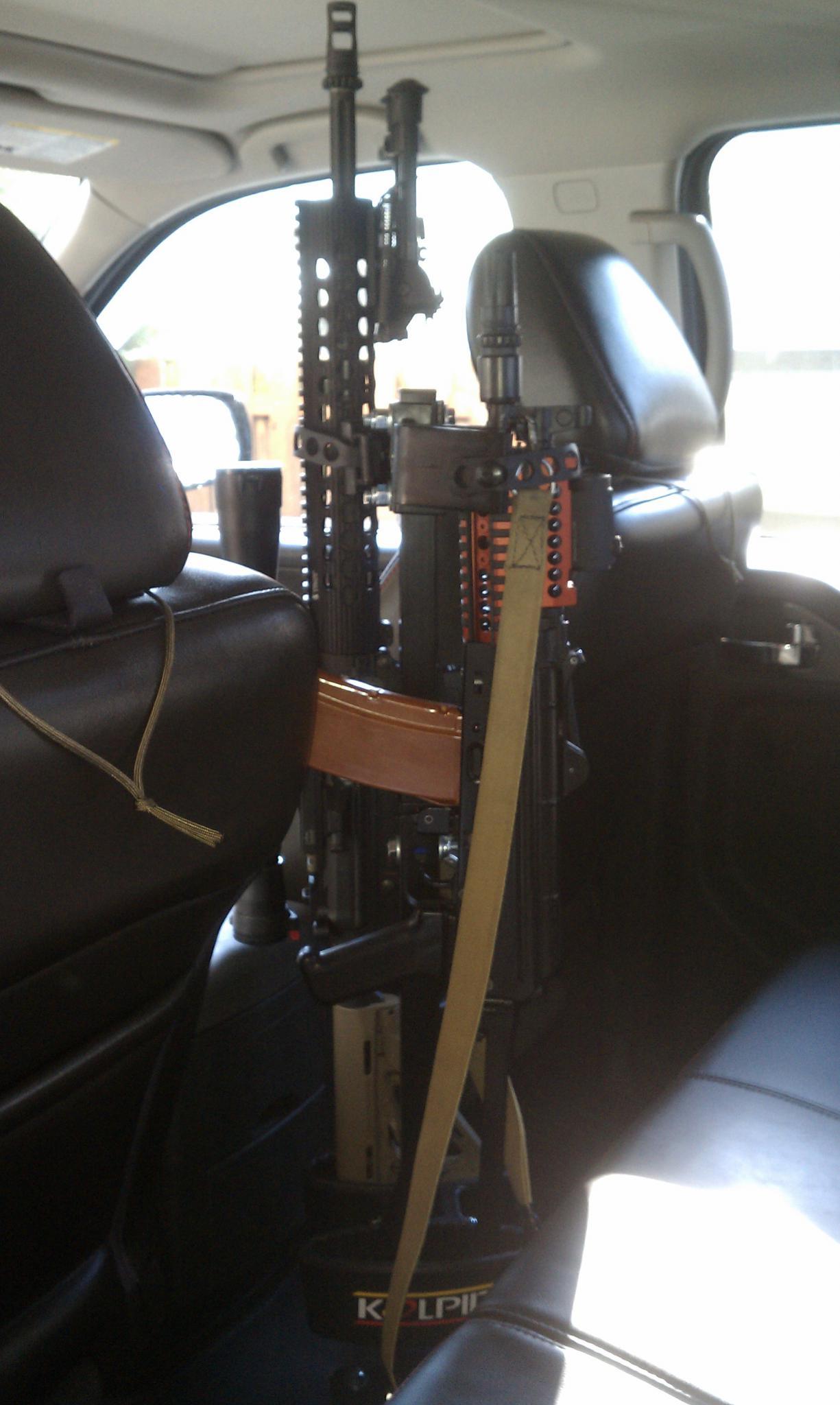 Floor Mounted Rifle Rack Nissan Frontier Forum
