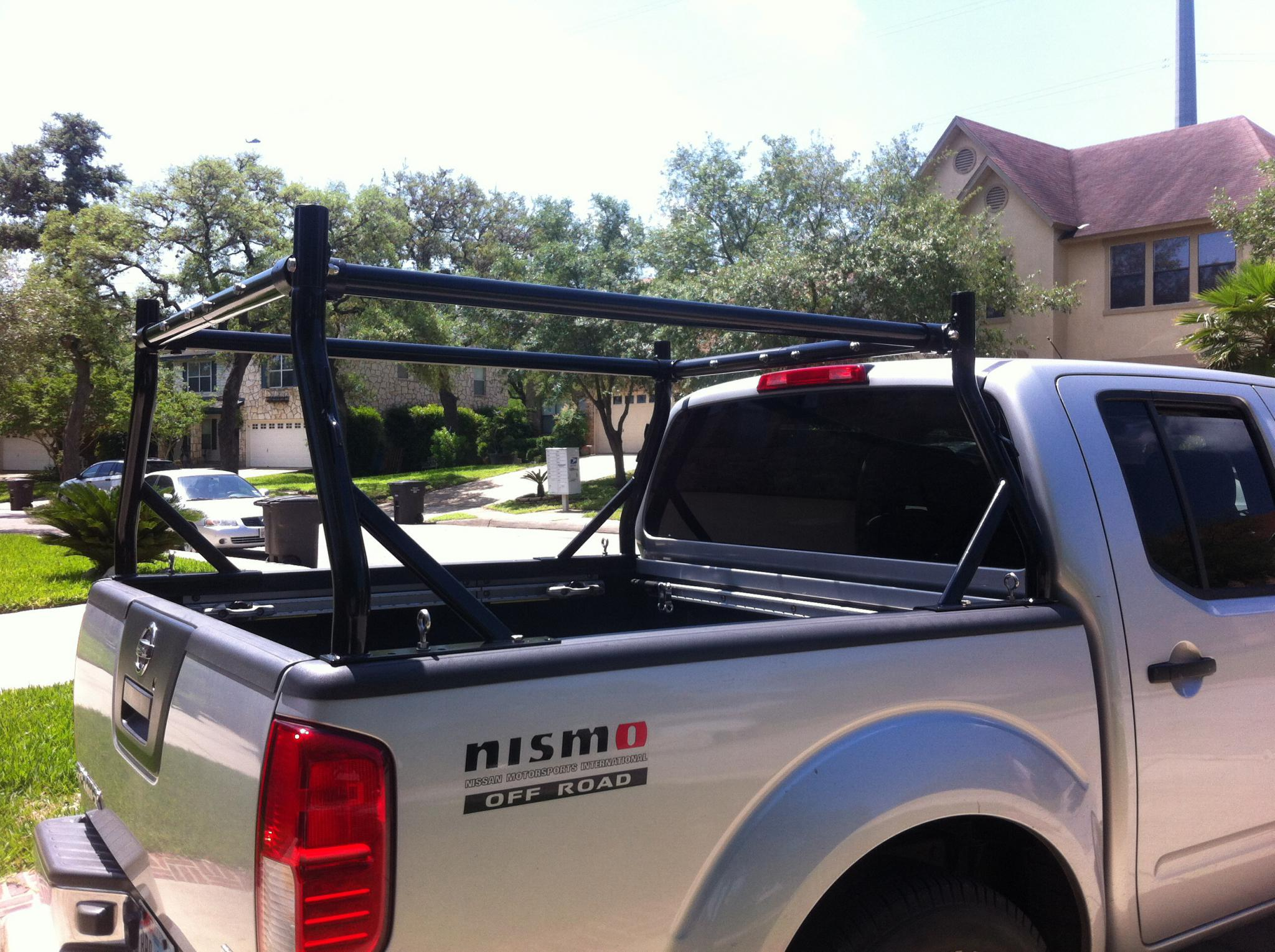 Opinions On Ladder Type Rack That Can Be Mounted With Truck Box And Tailgate Extender