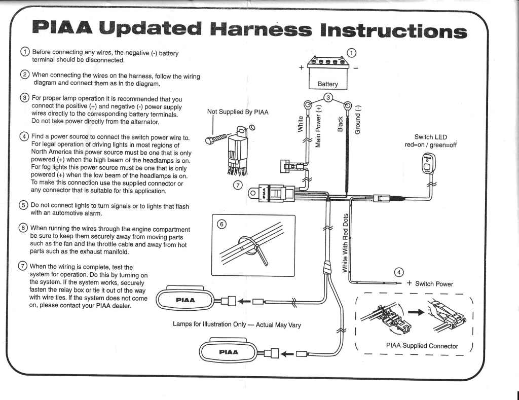 Piaa wiring harness diagram wire center replacing piaa switch with in dash nissan frontier forum rh clubfrontier org chevy wiring harness headlight wiring harness upgrade cheapraybanclubmaster Images