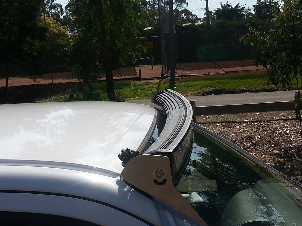 Curved 50 Quot Led Light Bar Roof Mount Nissan Frontier Forum