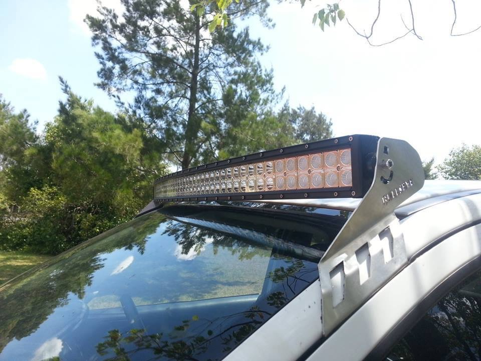Curved 50 led light bar roof mount nissan frontier forum click image for larger version name img2623g views 1780 size 1681 click image for larger version name led light bar mount aloadofball Images