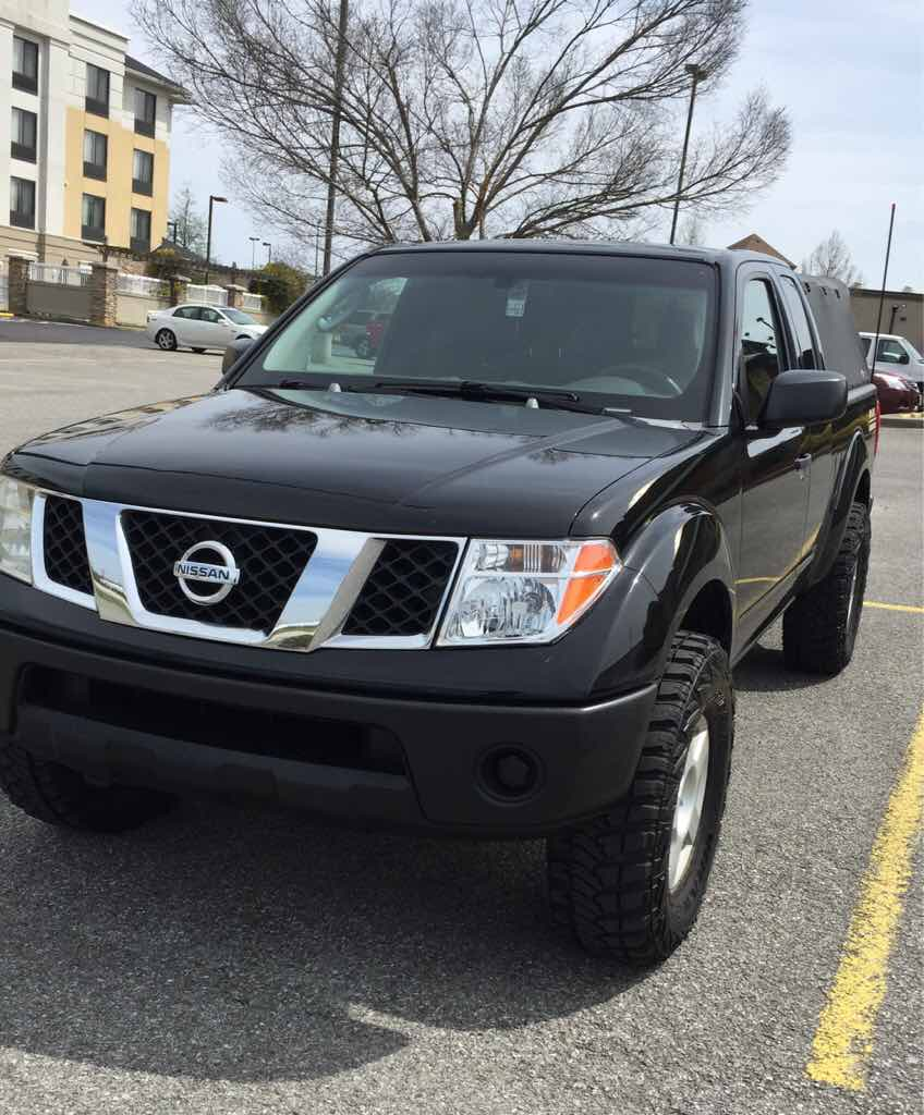 2005 Nissan Frontier Wheels: 1.5 Inch Wheel Spacers Installed With Pictures