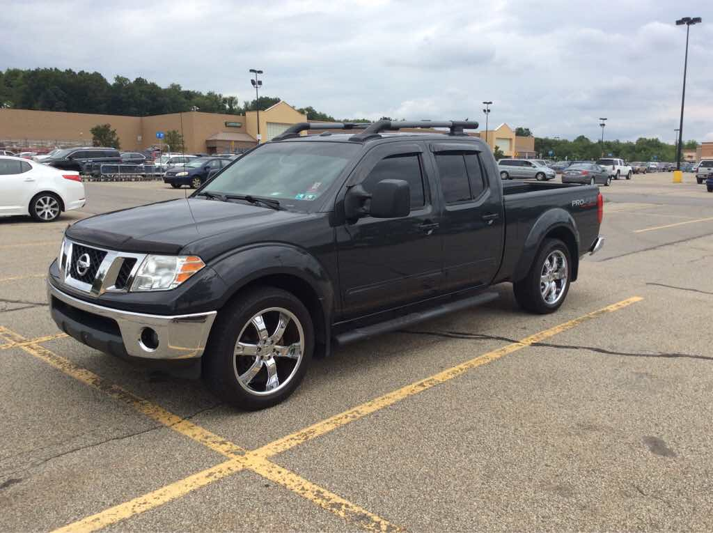 2005 2015 Nissan Frontier Black Textured Chrome Cap Towing Dual