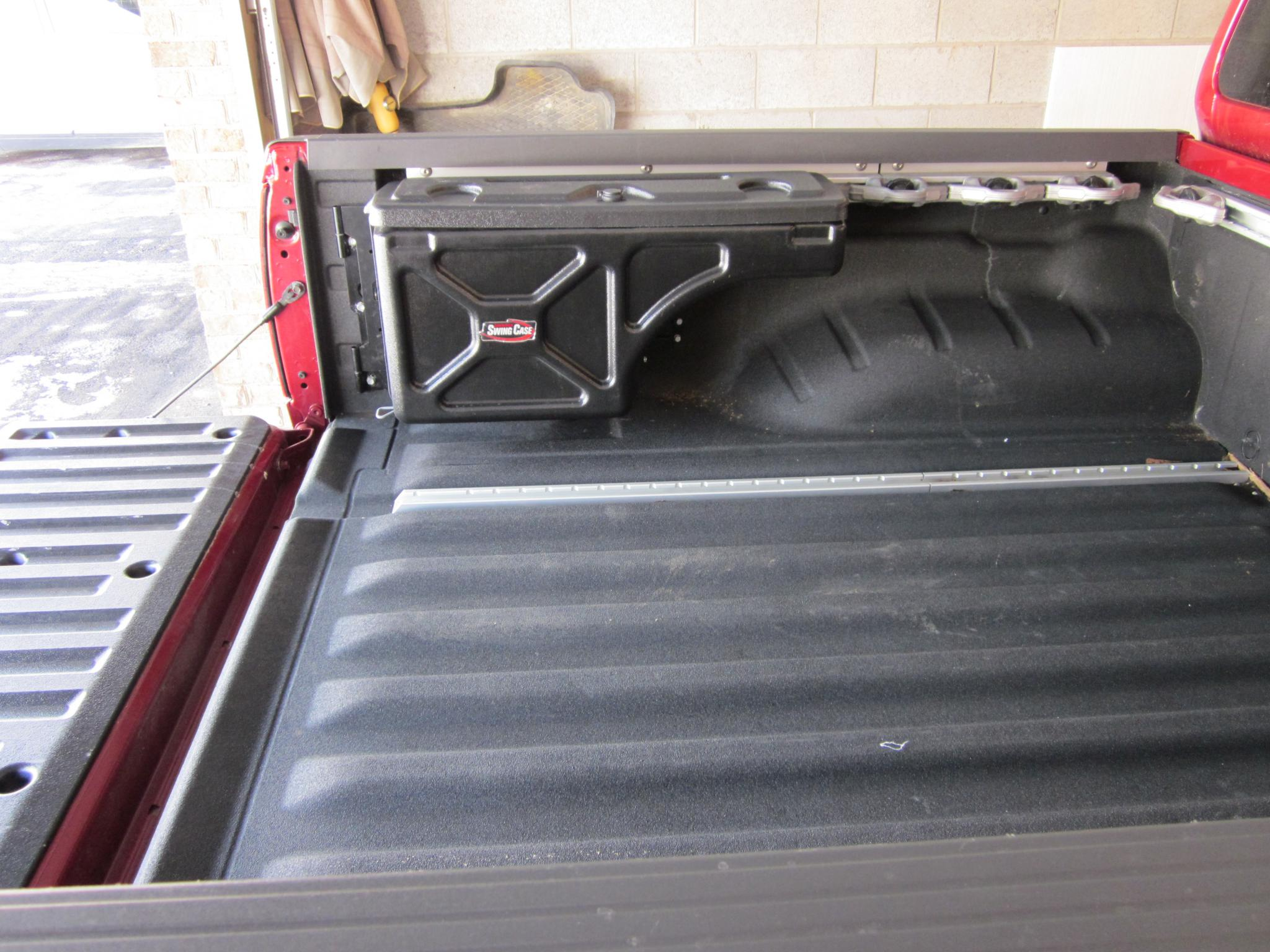 Undercover Swingcase Bed Storage Toolbox Nissan