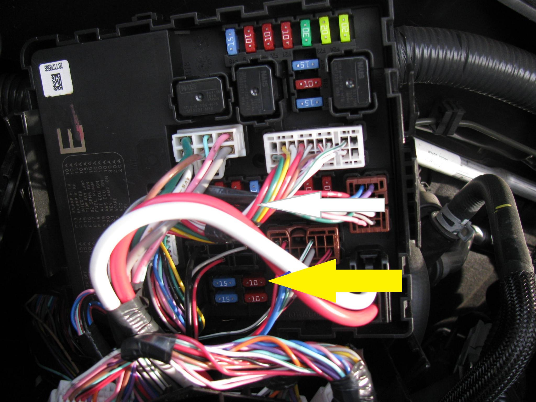 Trailer Wiring Woes Nissan Frontier Forum Harness Click Image For Larger Version Name Img 0190 Views 538 Size 2839