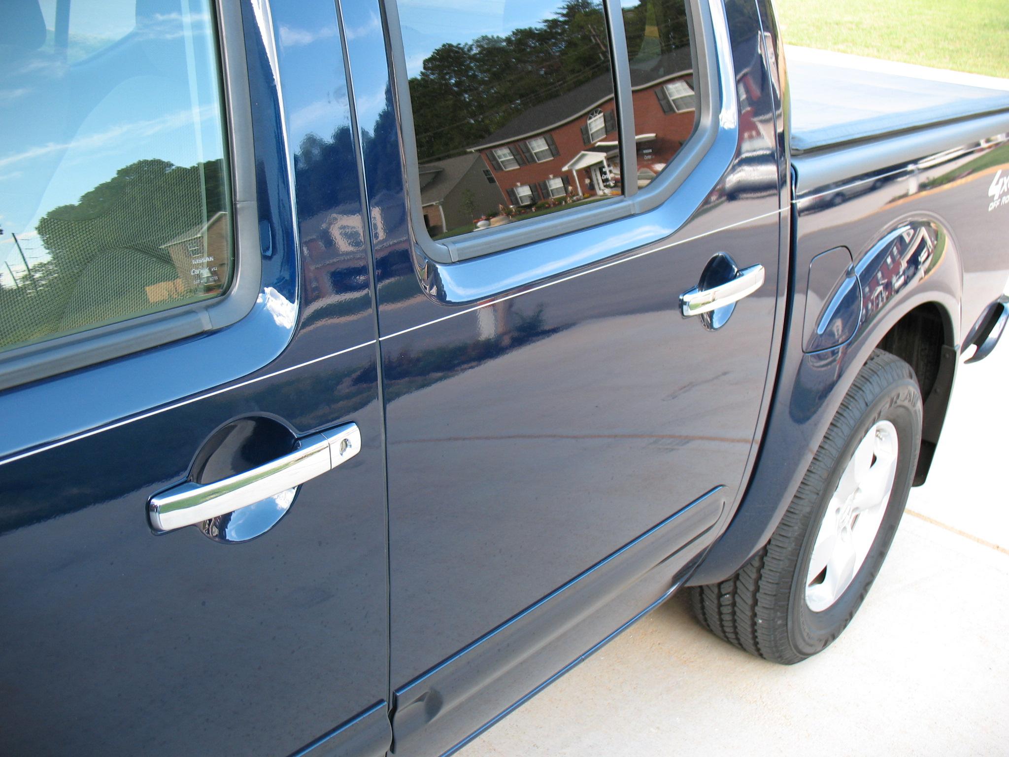 & Chrome Door handles - Nissan Frontier Forum