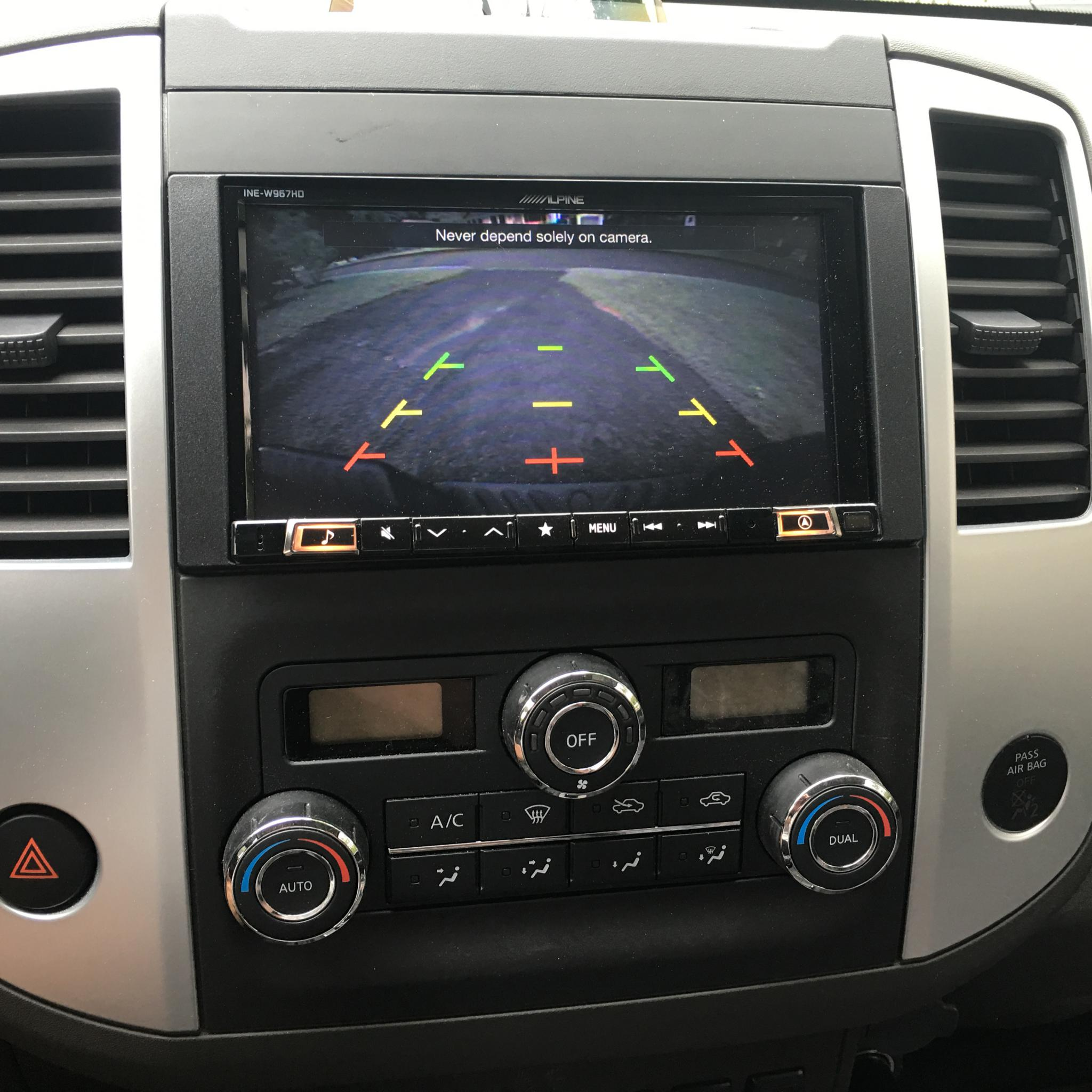 Installed new head unit in 2014 - Nissan Frontier Forum