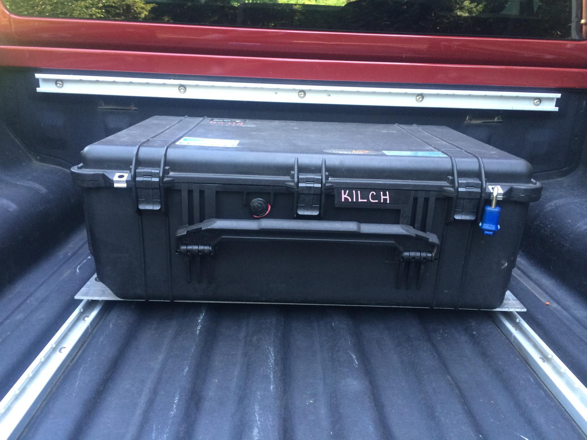 DIY Modular Pelican Case Utilitrack Tool Box Mount ...