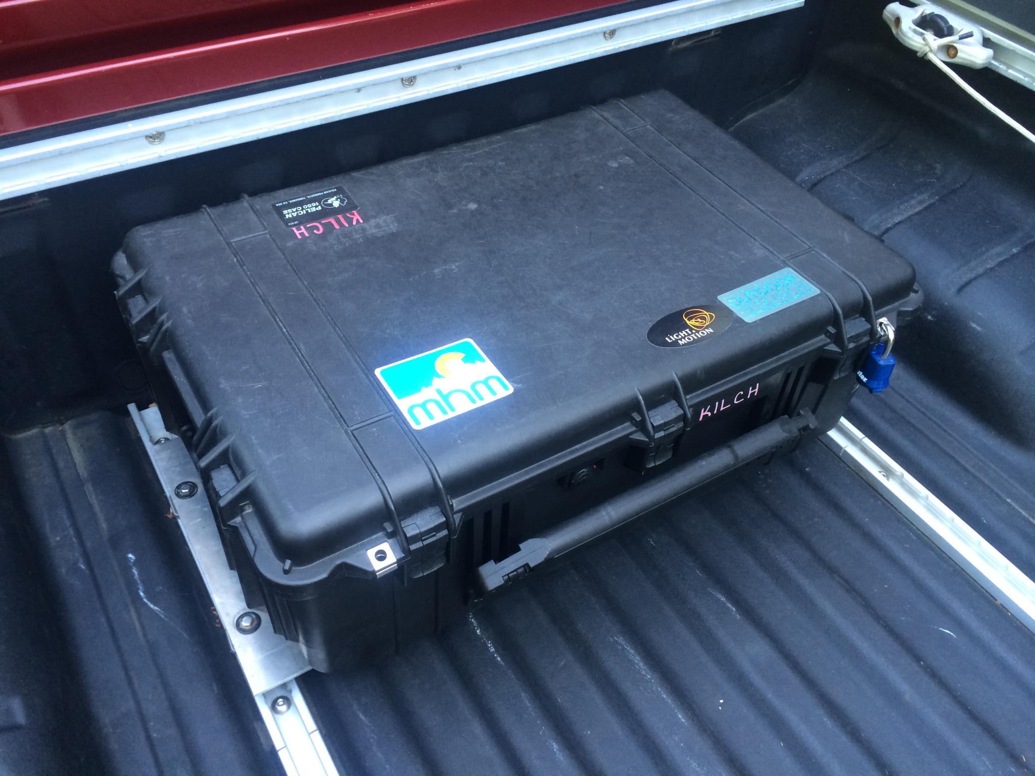Nissan Frontier Nismo >> DIY Modular Pelican Case Utilitrack Tool Box Mount - Nissan Frontier Forum