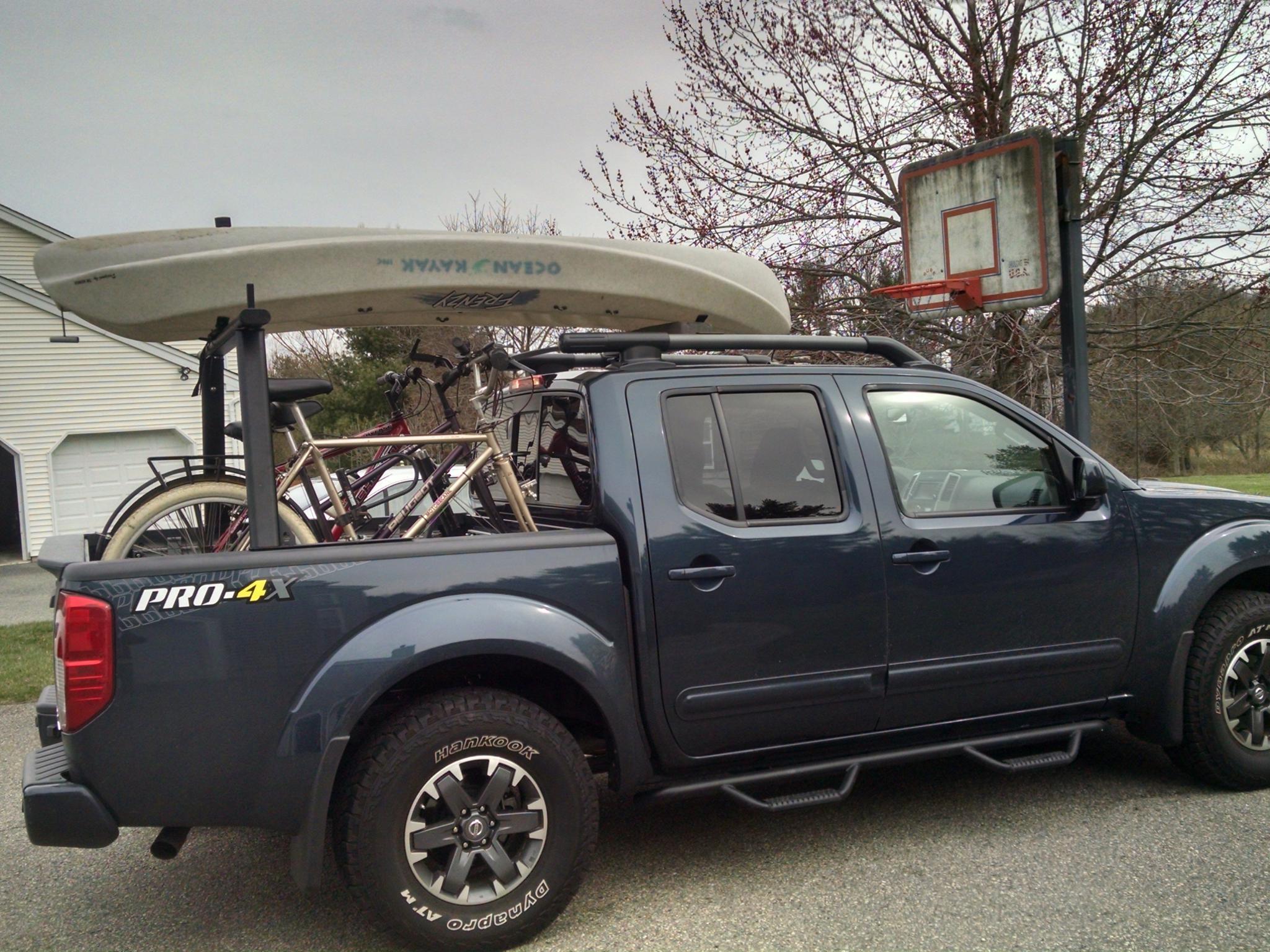 roof kayak trucks racks rack pick img up for