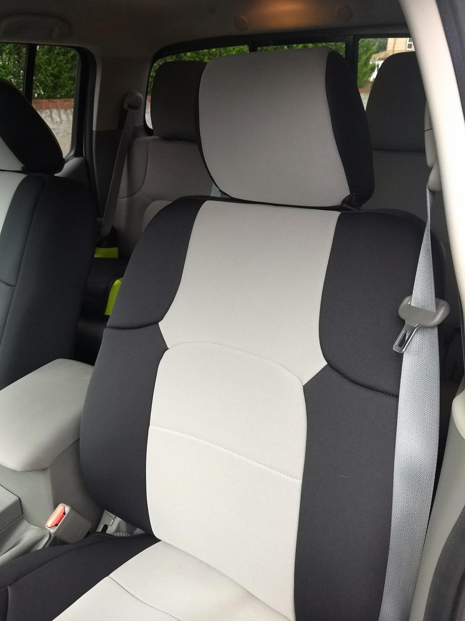 no more cheese cloth seats coverkings ftw nissan frontier forum. Black Bedroom Furniture Sets. Home Design Ideas