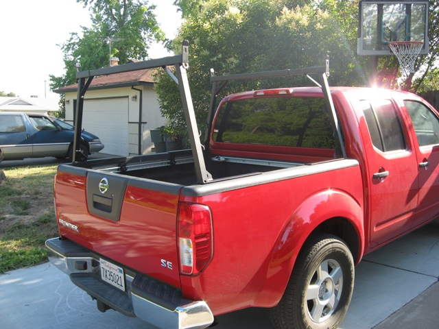 lumber rack to fit 05 cc nissan frontier forum. Black Bedroom Furniture Sets. Home Design Ideas