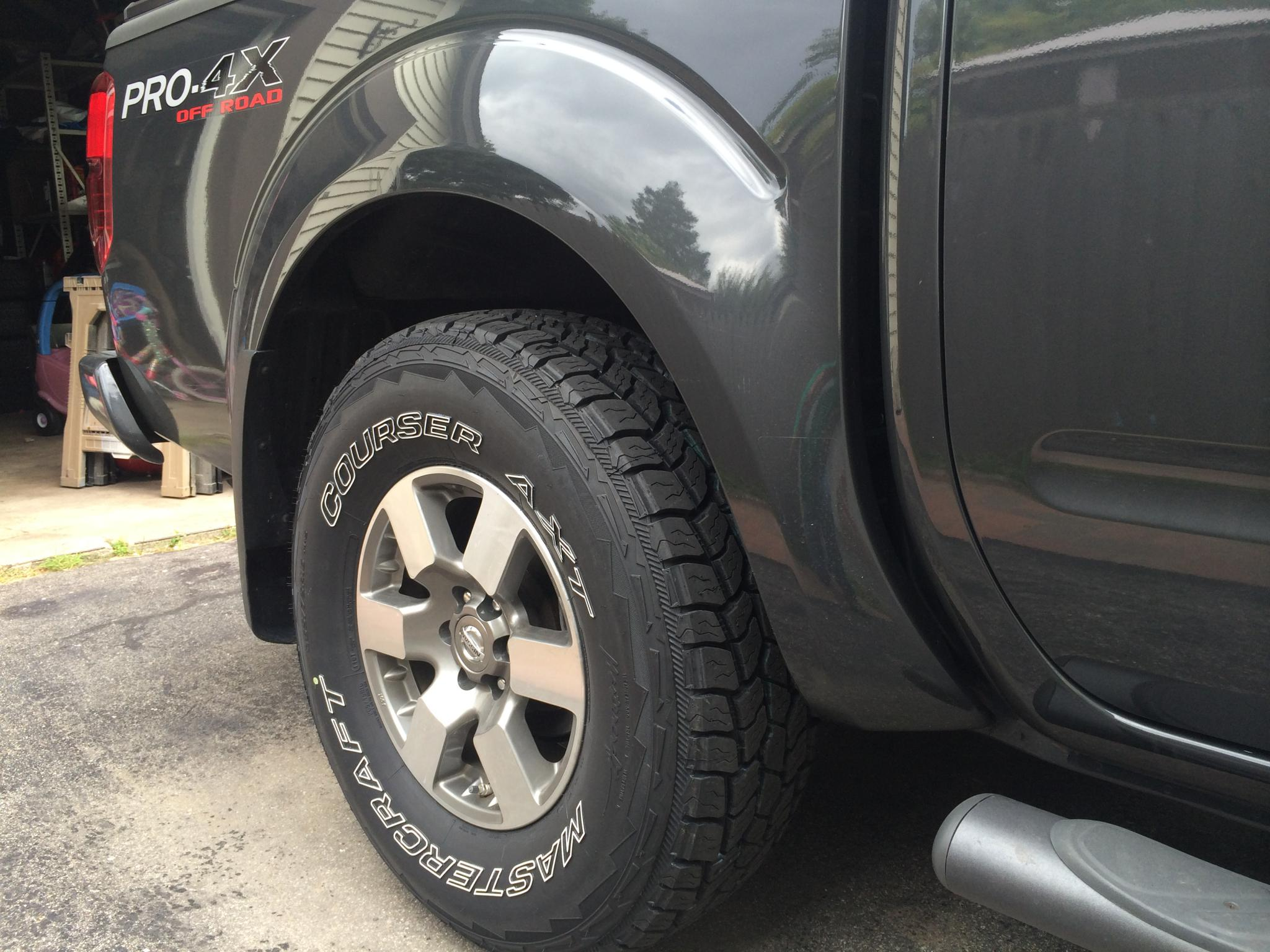 Tires For Cheap >> Mastercraft Courser HSX vs. AXT - Nissan Frontier Forum