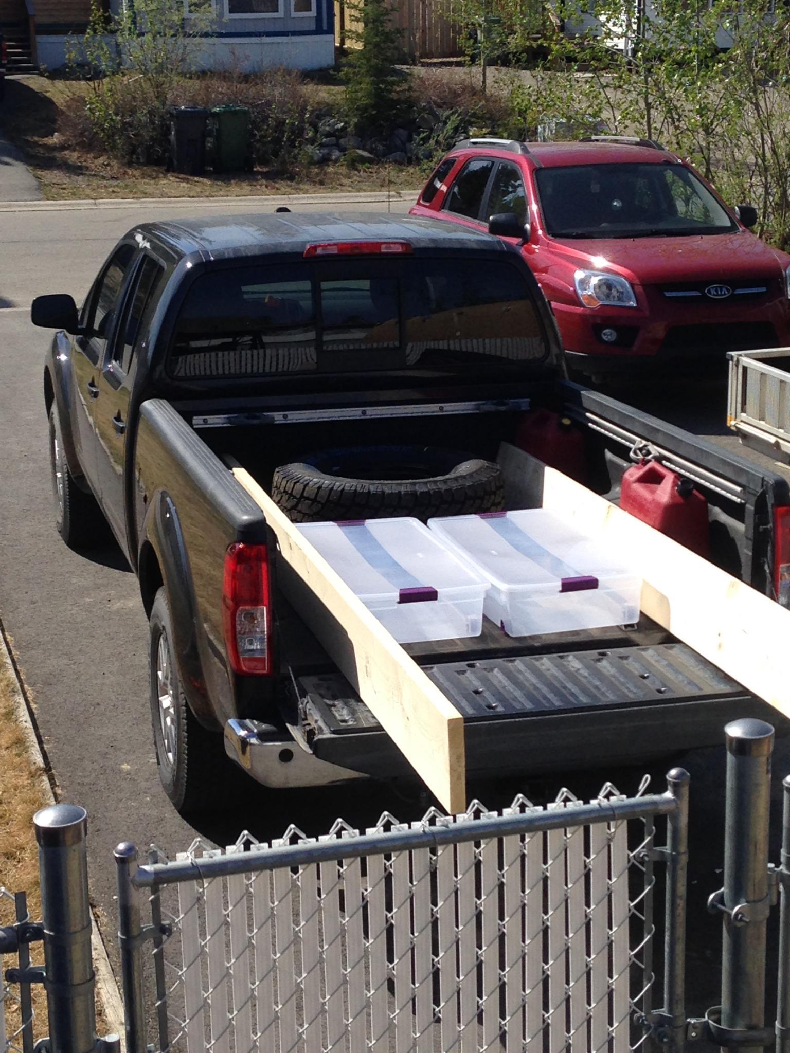 truck bed storage ideas nissan frontier forum. Black Bedroom Furniture Sets. Home Design Ideas