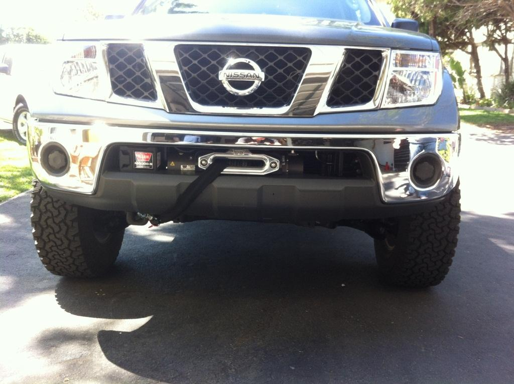 Prg Winch Mount Plate Nissan Frontier Forum